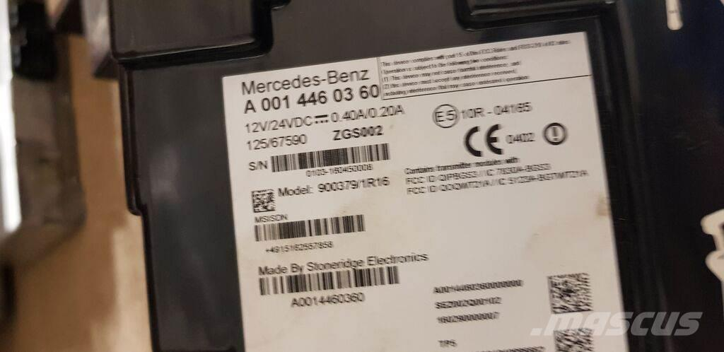 Mercedes-Benz Actros MP4 EURO5. EURO6 FCC telematics fleetboard