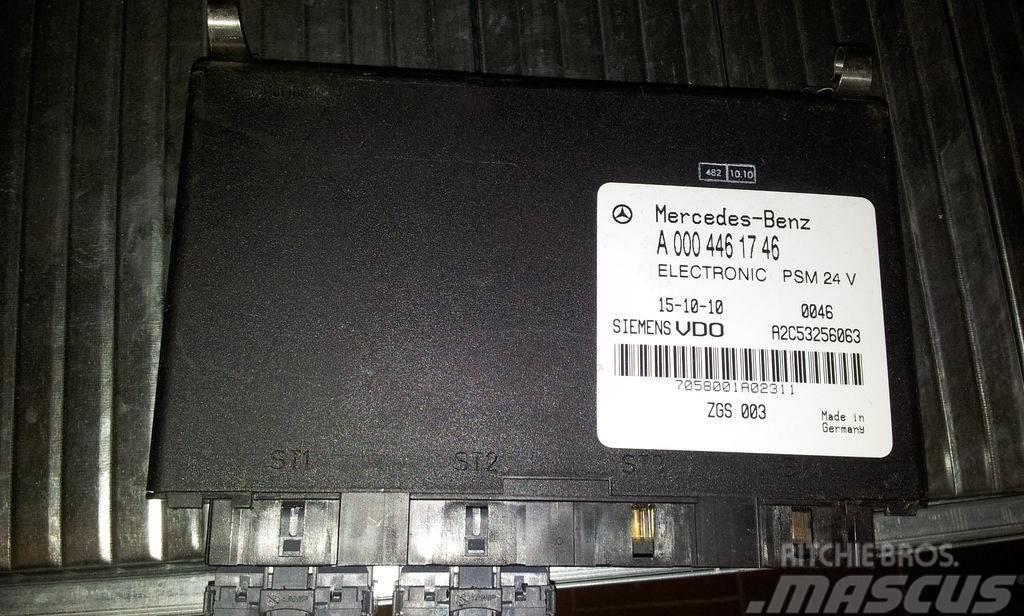 Mercedes-Benz Euro5, Euro3, electronic PSM unit, EDC, ECU, sieme
