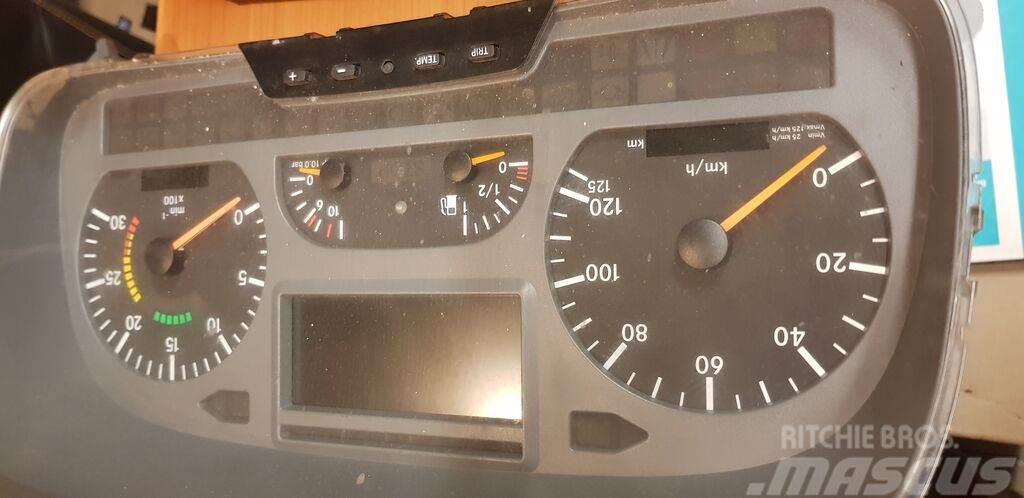 Mercedes-Benz instrument panel, dashbo