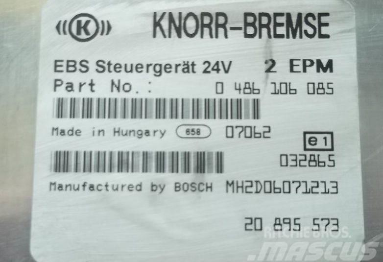 Renault central brake control unit EBS 20895573