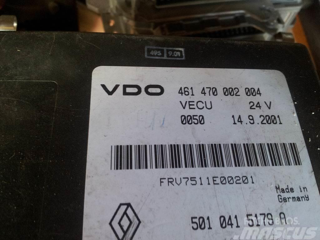 Renault DCI VECU VDO unit, EDC, ECU