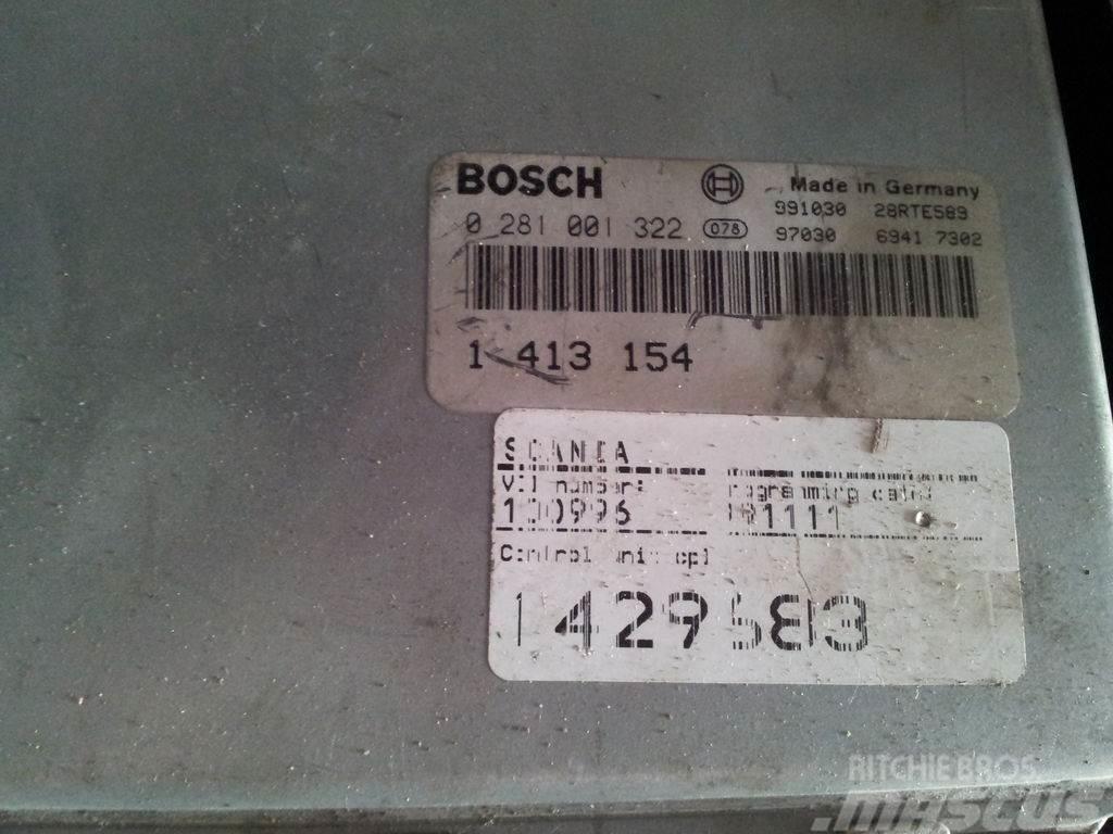Scania 4 series engine control unit, EDC, ECU, EMS, V8, V