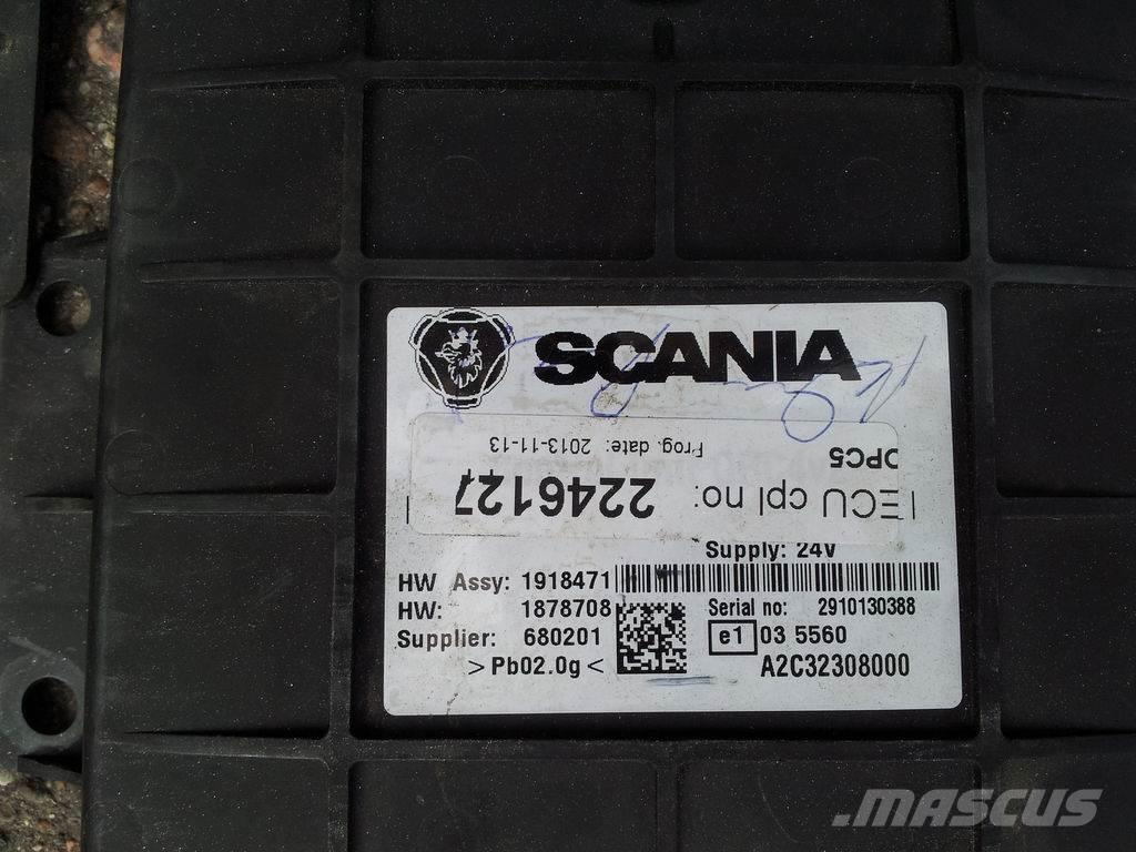 Scania R, P, G series ECU EURO5, EURO4, XPI, PDE OPC5, ET