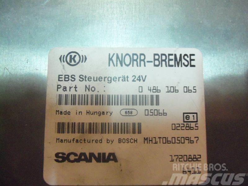 Scania R series EBS control unit, EDC, ECU, 1720882, 0486