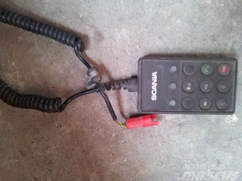 Scania R series axle lifting air suspension remote contro