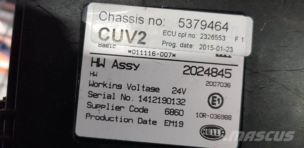 Scania series CUV E23 control unit, ECU, 1769683, 1769595