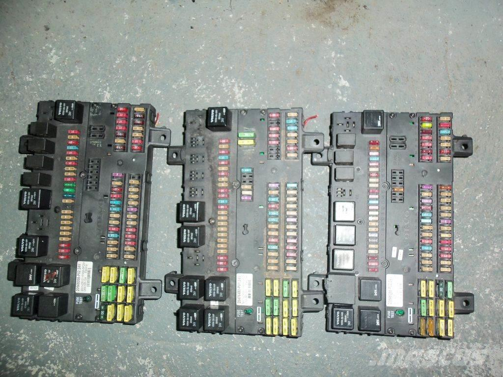 Volvo FH13, FM13, EURO 4, EURO 5 emission fuse and relay
