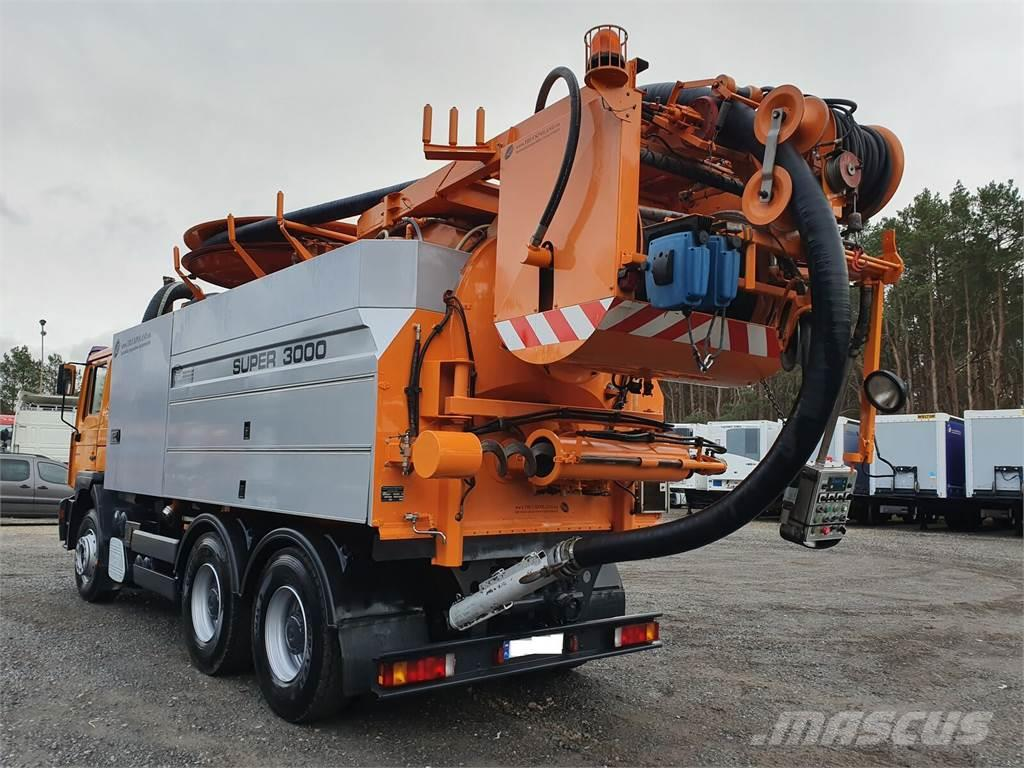 MAN FE 33.460 Wiedemann & Reichhardt Super 3000 z recy