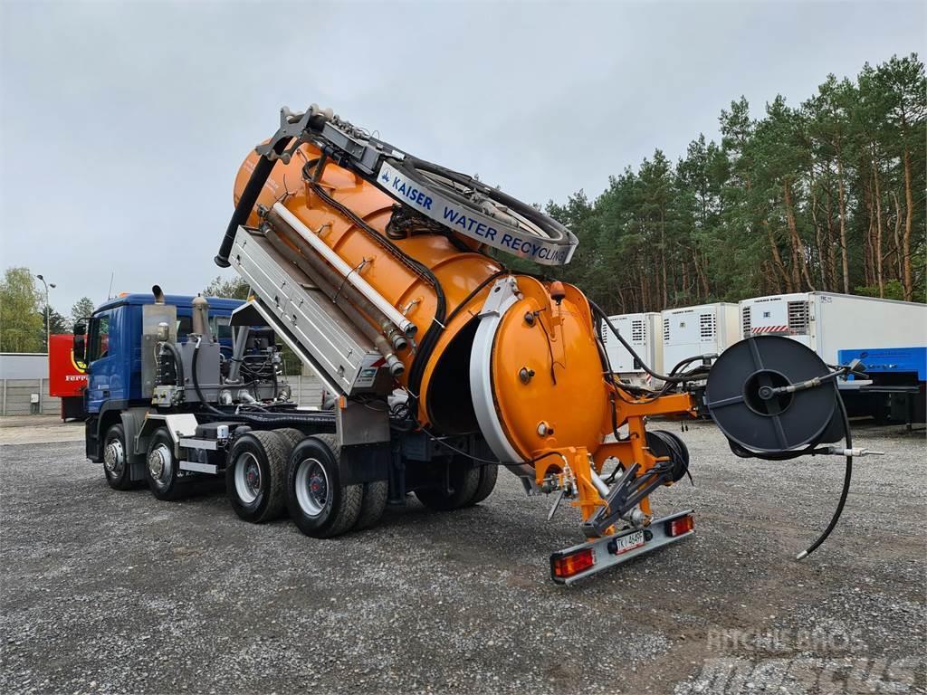 Mercedes-Benz ACTROS 8x4 WUKO RECYTLING do zbierania odpadów pły