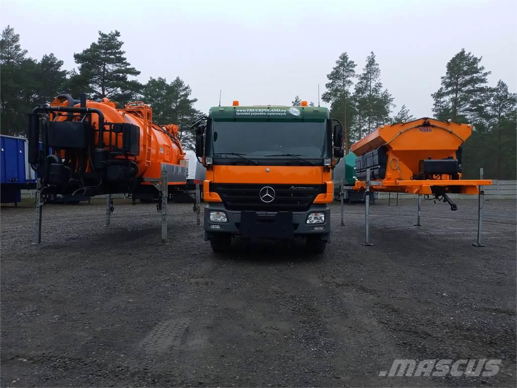 Mercedes-Benz ACTROS 2636 6x4 WUKO + MUT SAND MACHINE FOR CHANNE