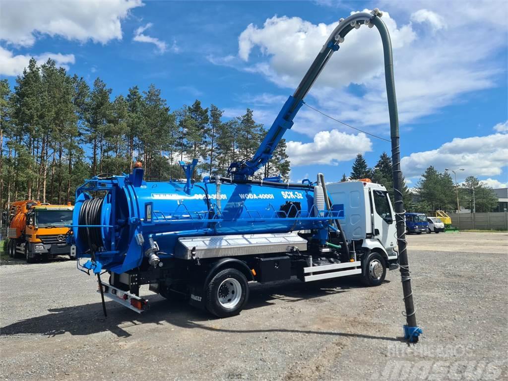 Renault Midlum WUKO SCK-3z for collecting liquid waste fro