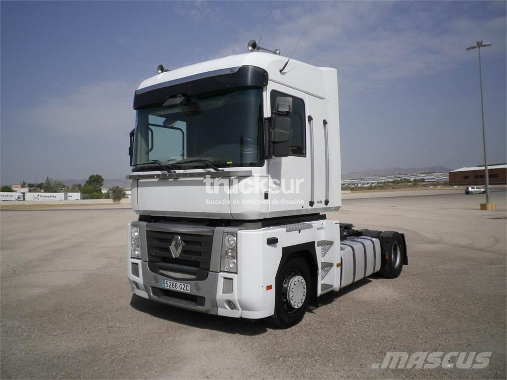 renault magnum 480 dxi occasion prix 17 000 ann e d 39 immatriculation 2010 tracteur. Black Bedroom Furniture Sets. Home Design Ideas