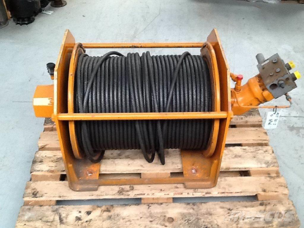 Faun ATF 30-2 winch