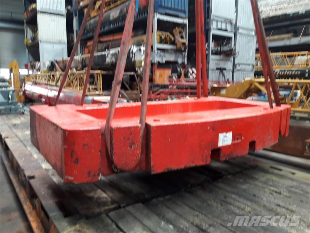 Grove Counterweight Grove GMK 5100