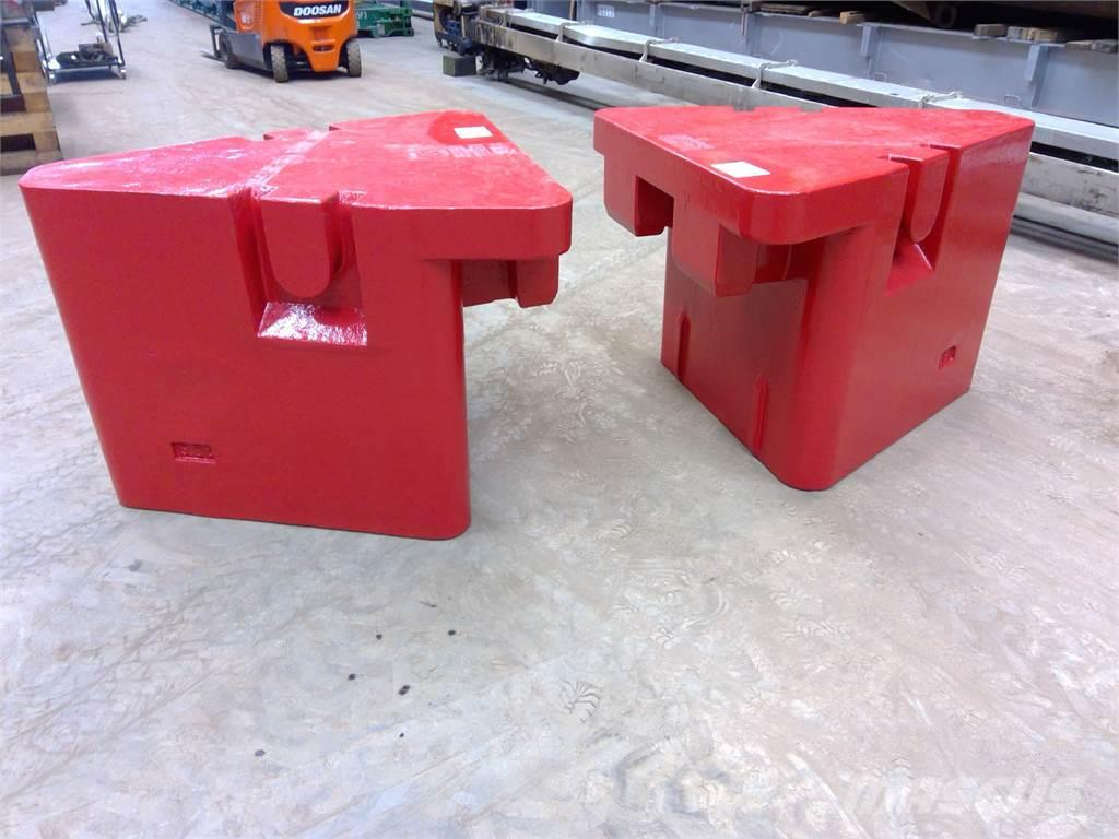 Grove GMK 5130-1/2 counterweight 5.8 ton