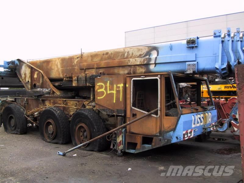 Terex Demag Demag AC 155 for parts