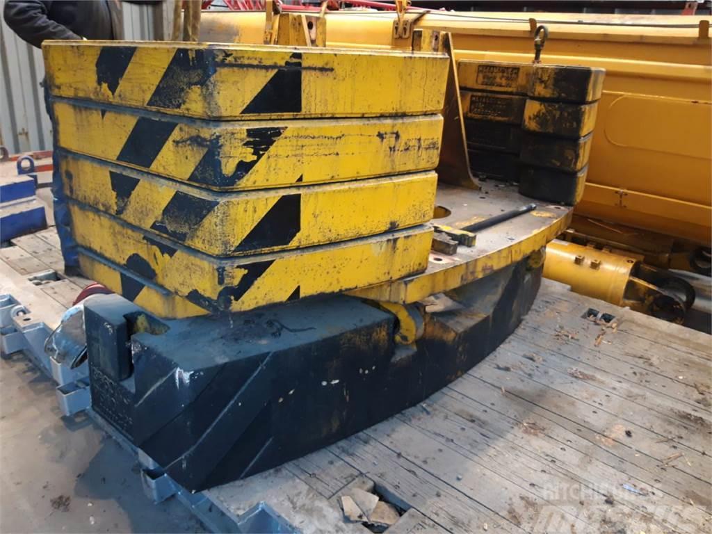 Terex PPM PPM ATT 600/3 counterweight 3.86 ton