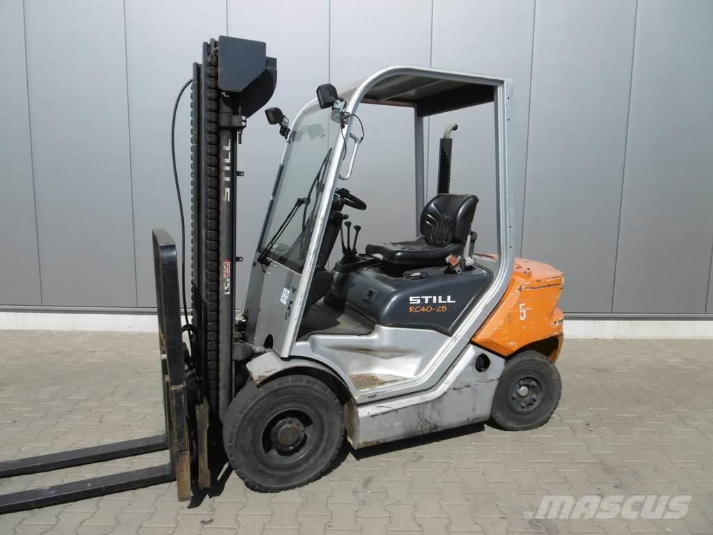 Used Still Rc 40 25 Diesel Forklifts Year 2011 For Sale Mascus Usa