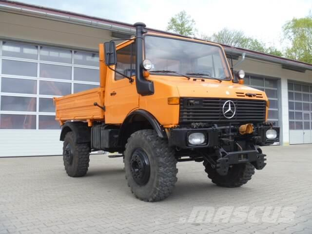 Unimog 1650 U1650 427 46338 Mercedes Benz 427 Langenbach Germany Used Other Trucks Mascus Canada