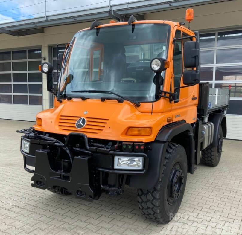 Unimog 1750 - U1750 437 56465 mit Kran Mercedes Be