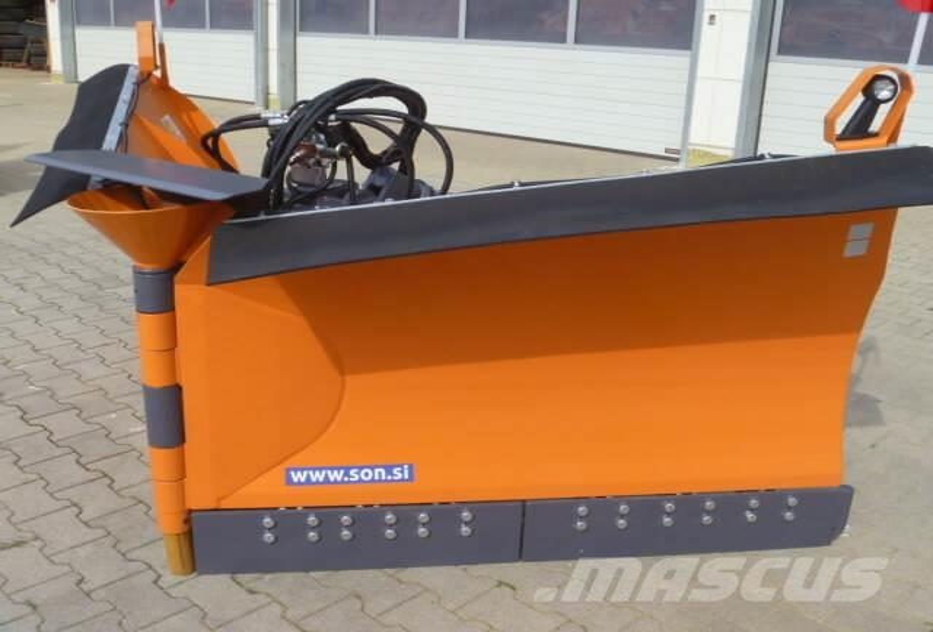 Unimog Schneepflug - Schneeschild RASCO MSP 3.2, 2015, Snöblad och plogar