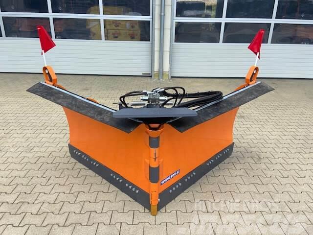 Unimog Schneepflug - Schneeschild Beilhack PV26-3