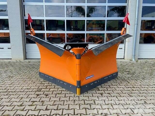 Unimog Schneepflug - Schneeschild Schmidt MS 32.1