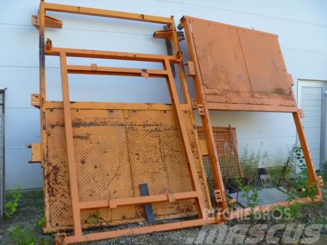 Unimog -Zwischenrahmen, Geräterahmen Mulag U400L U5