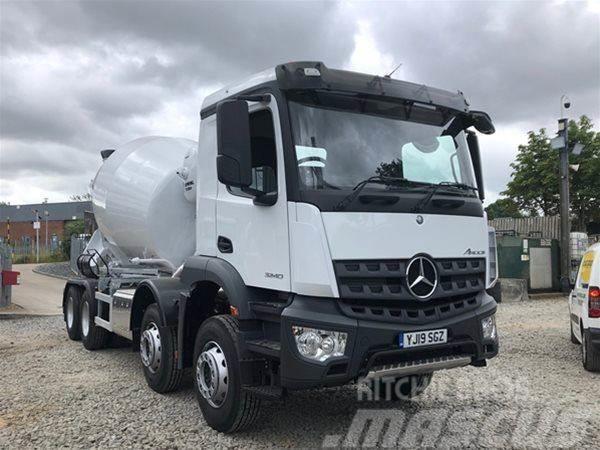 Mercedes-Benz SCHWING-STETTER 8m3