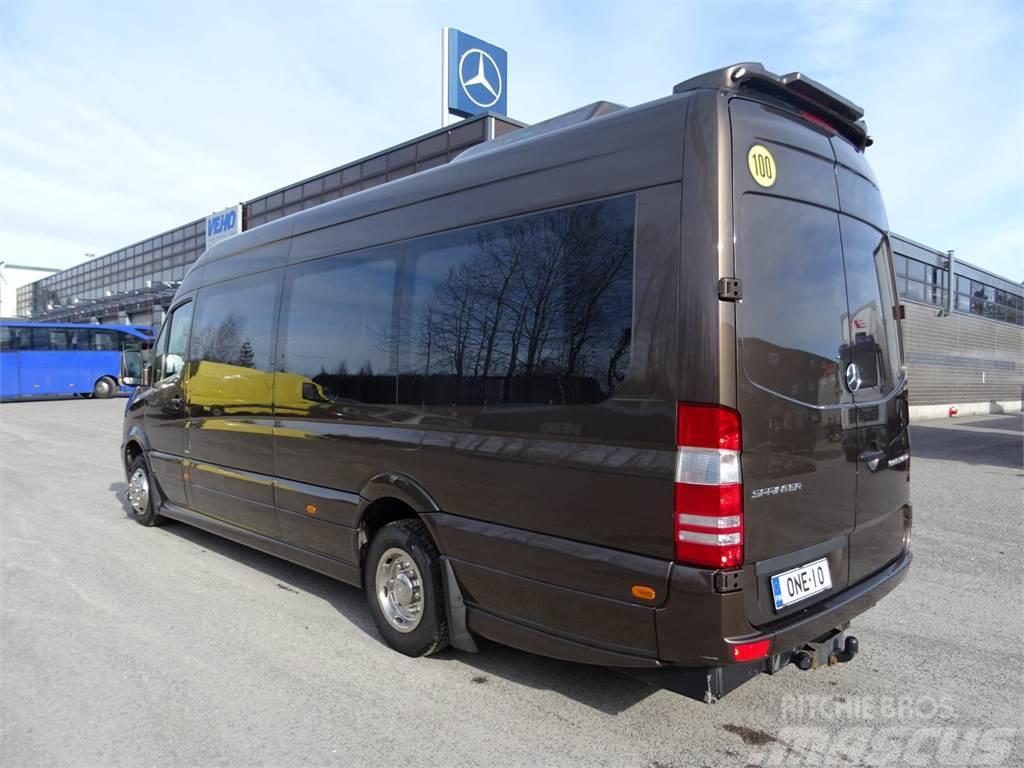 Mercedes-Benz 519 CDI, 17 paikkaa Espoo Hinta: 65 500 €, Vuosimalli: 2016 - Muut bussit - Mascus ...