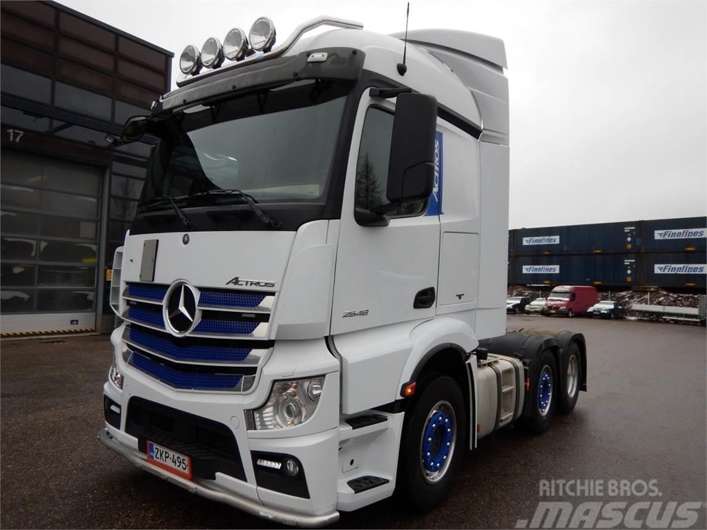 Mercedes-Benz ACTOS 2548LS - Vaihtohyvitys 15 000 eur