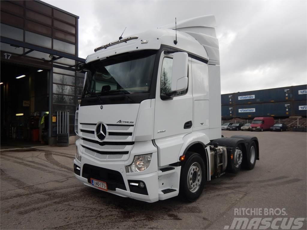 Mercedes-Benz ACTOS L2551 LS/6x2/4 VLA