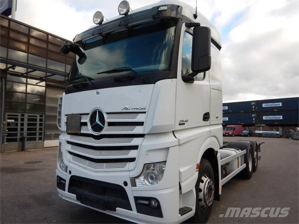 Mercedes-Benz Actros 2545L ADR/EX3 chassis