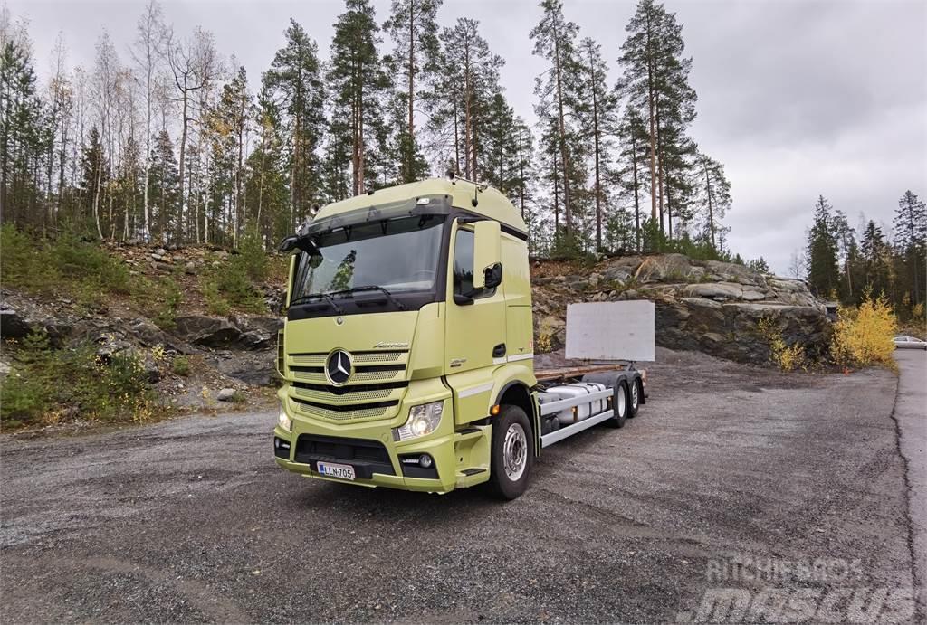 Mercedes-Benz Actros 2548L EURO6 VAK Konttilaite + PL