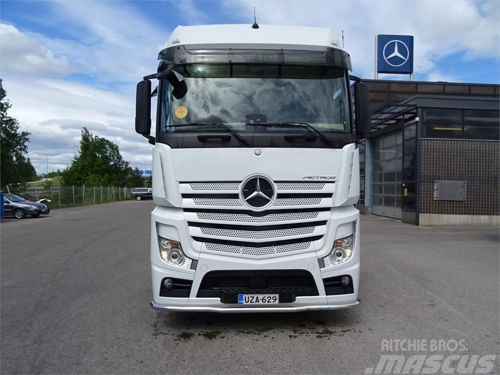 Used Mercedes Benz Actros 2551 Ls 6x2 2 Takateli Veturi