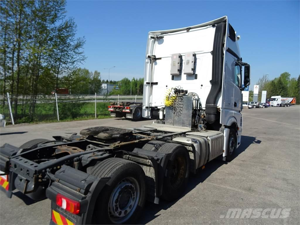 Mercedes benz actros 2551 ls takateli tractor units for Mercedes benz inspection cost