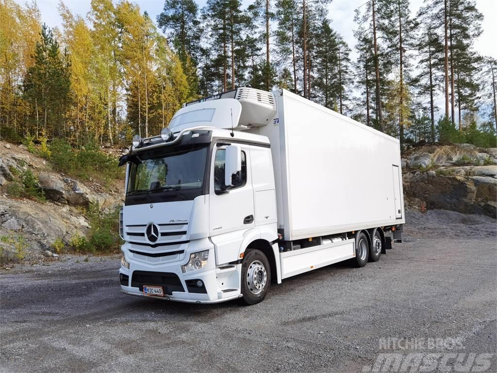 Mercedes-Benz Actros 2551L 2-lämpö FRC + PL-nostin