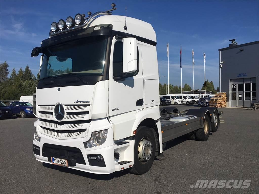 Mercedes-Benz Actros 2551L 6X2 ACTROS L
