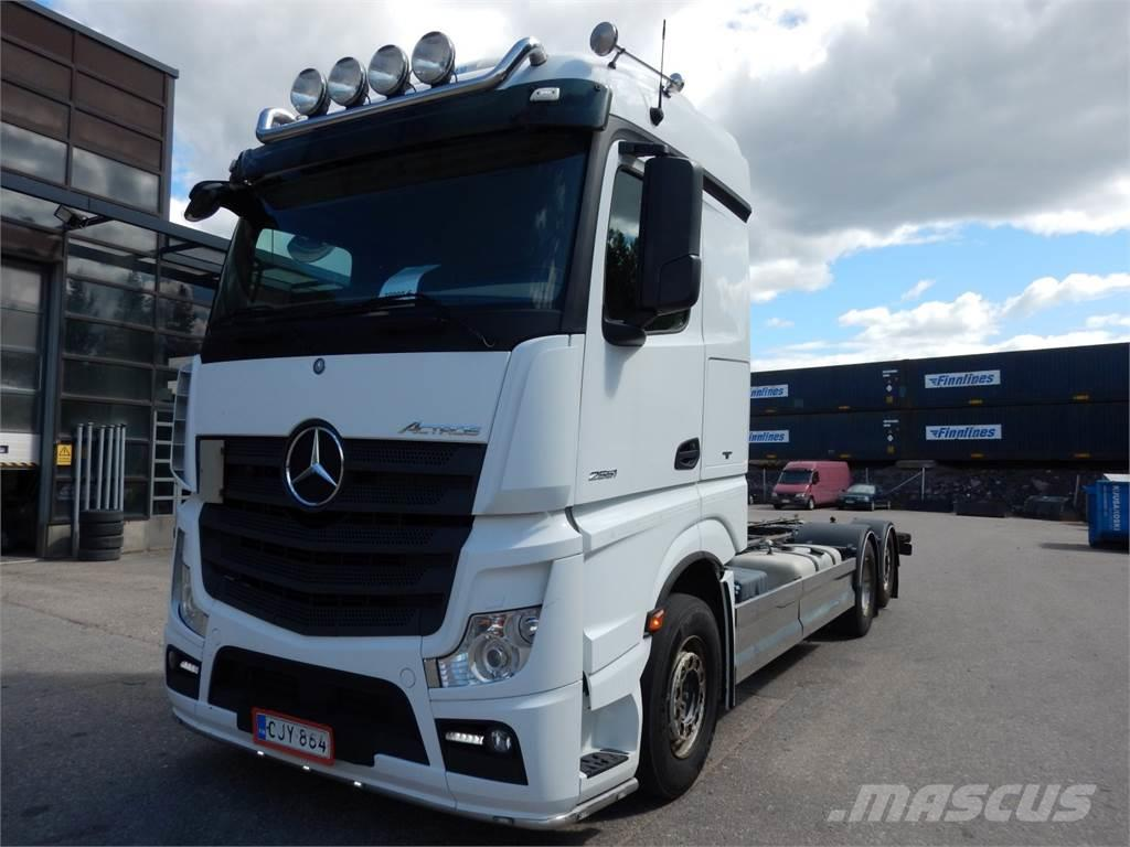 Mercedes-Benz ACTROS 2551L Chassis only