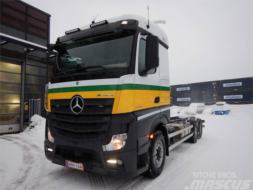 Mercedes-Benz ACTROS 2653DNA HAD hydraulinen etuveto