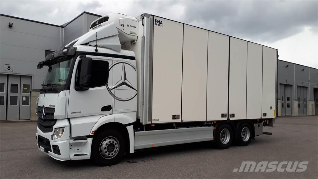 Mercedes-Benz ACTROS 2653L FNA 2-taso - Vaihtohyvitys 15 000 eur