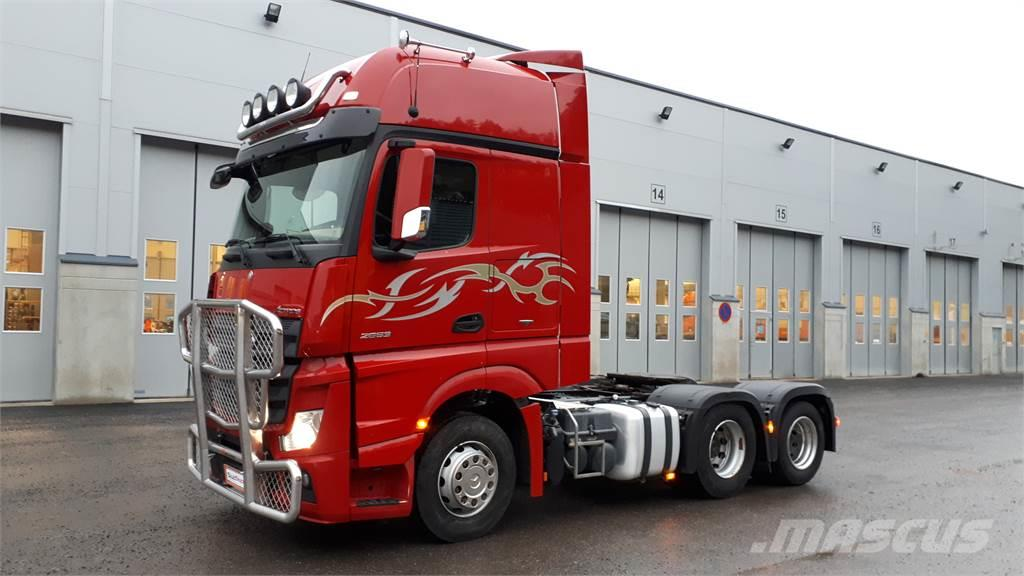 Mercedes-Benz Actros 2653LS DNA 28 tn