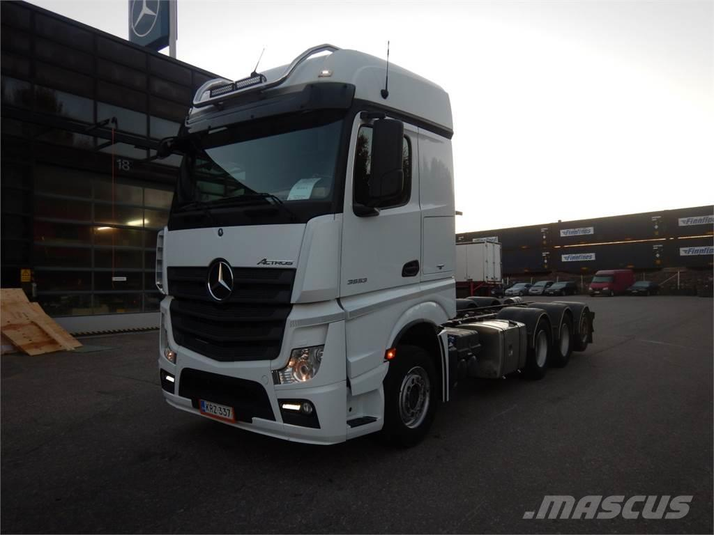 Mercedes-Benz ACTROS 3553L - Sivukaatokori