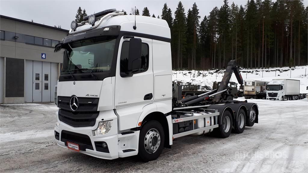 Mercedes-Benz ACTROS 3558 L/NLA 8X4/4