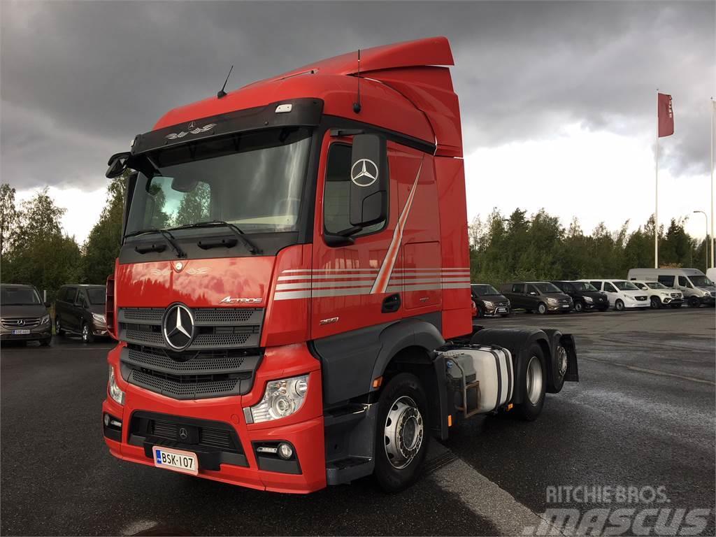 Mercedes-Benz Actros L 2551 LS/6x2 NLA