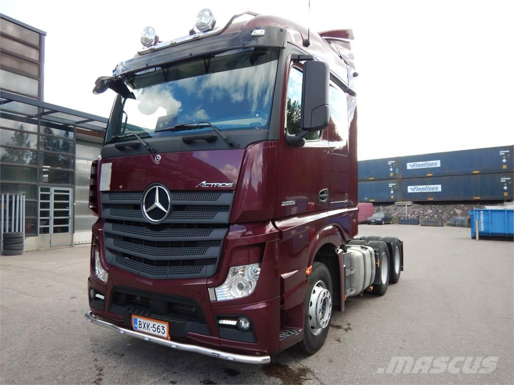 Mercedes-Benz Actros L 2653 LS 6x2 HCT-veturi