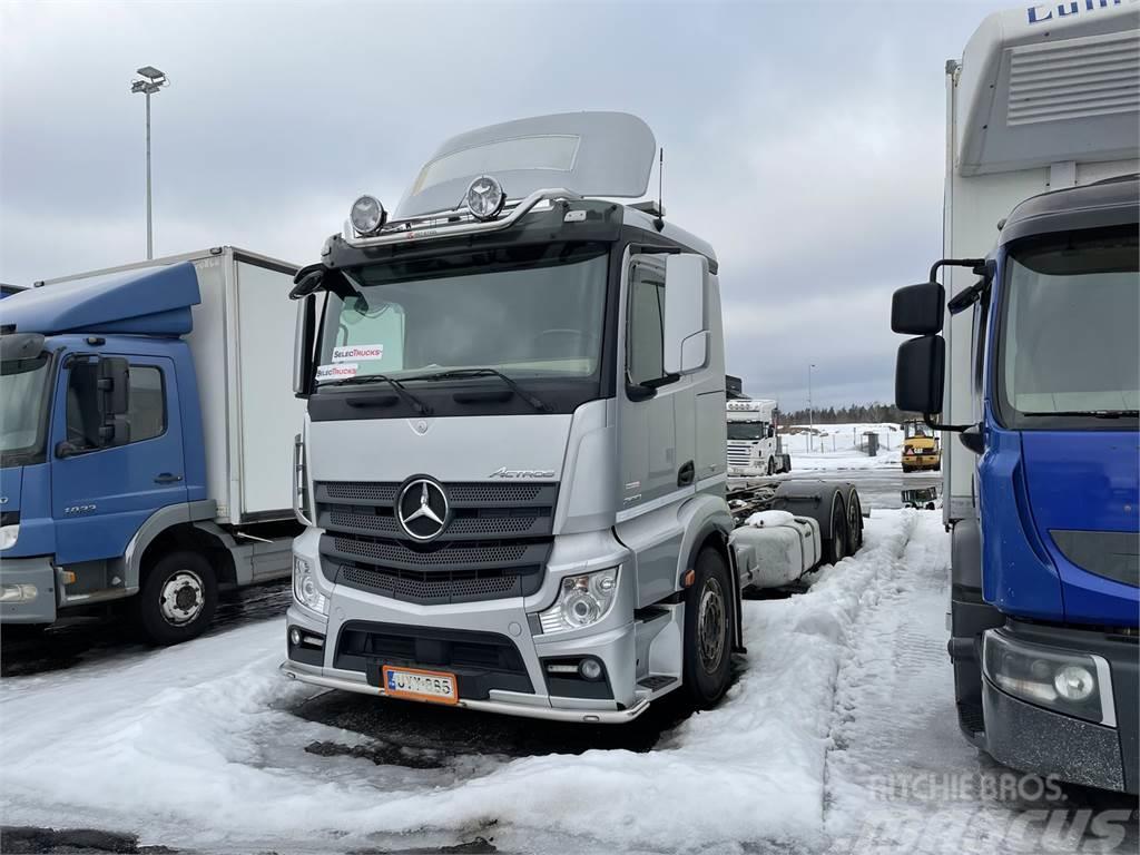 Mercedes-Benz Actros L2551 LnR/6x2ENA 8,6m VAK FNA Umpikori +VAK