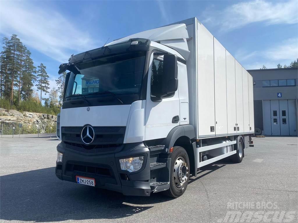 Mercedes-Benz Antos 1824L - Kokosivuaukeva 7,5 m + PL