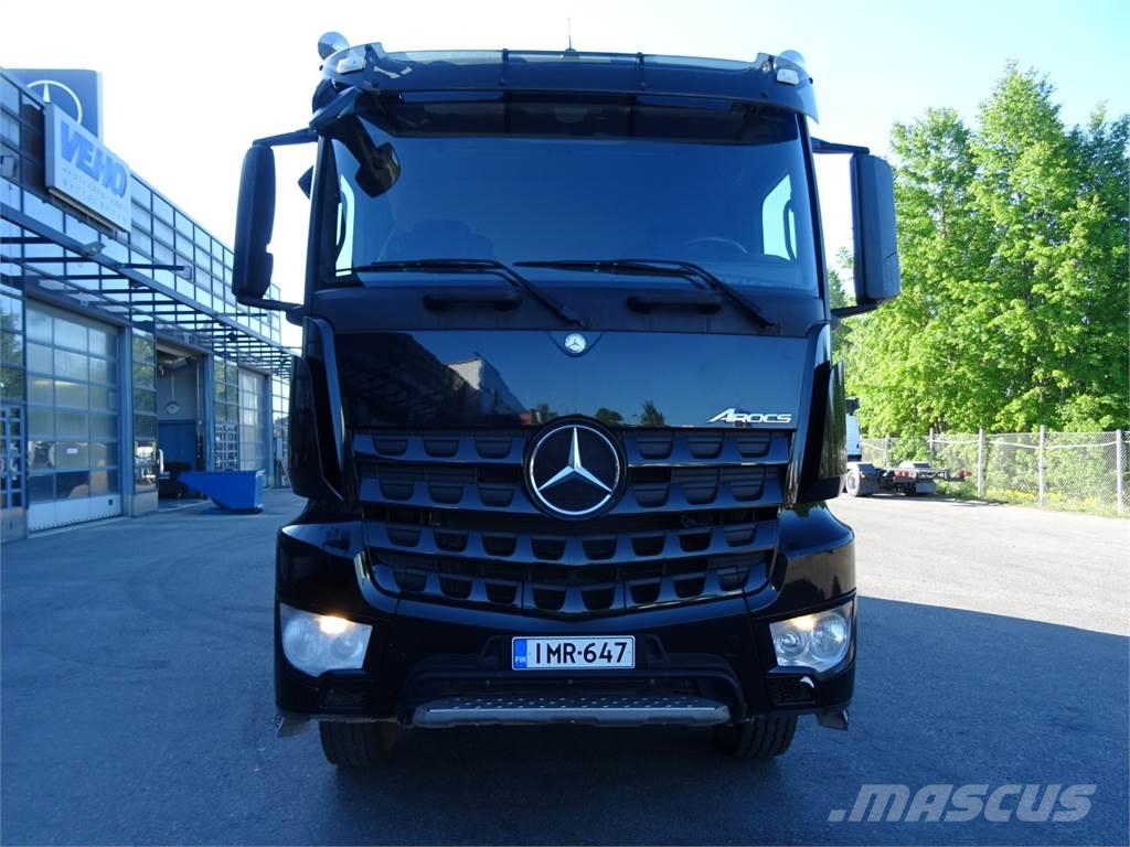 Mercedes benz arocs tipper trucks price 119 842 year for Mercedes benz financial phone number