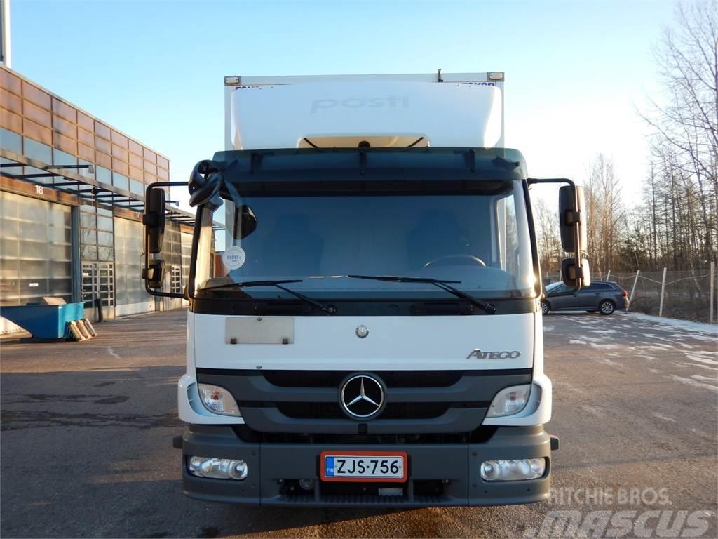 Used mercedes benz atego 1224l ksa umpikori box trucks for Mercedes benz atego